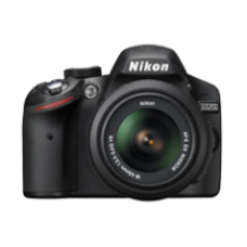 Nikon DLSR D-3300 KIT WITH (AF-S DX VR-II 18-55/ 3.5-5.6G LENS)