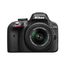 Nikon DSLR D-3300 KIT (18-55 VR II LENS)  + AF-S NIKKOR 50mm f/1.8G + WU-1a Wireless Mobile Adapter